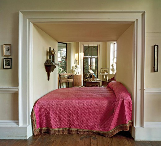 Thomas Jefferson's bed at Monticello