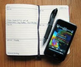Agenda and Cell Phone