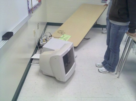 Ooops :) The not so tech savvy classroom