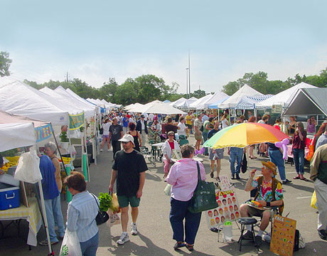 Barton Creek Farmers' Market in Austin, Texas