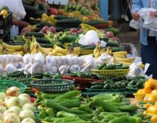 Delicious regional produce