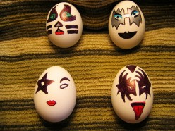 Different Cool Easter Egg Designs, Egg Salad & Tie Dye..A Winning Combination of Ideas!