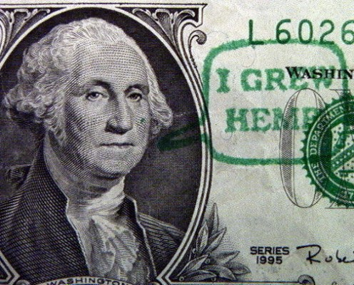 George Washington grew hemp on his Mount Vernon plantation.