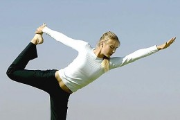 Be sure to warm up before starting your Yoga session.