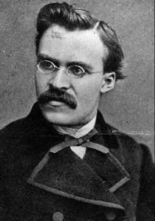 Friedrich Nietzsche 10/15/1844 - 8/25/1900. Angry Euro philosopher .