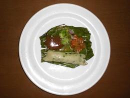 Otak-Otak With Chili Paste