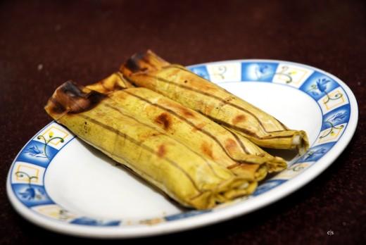 Otak - Otak  - Indonesian Grilled Fish Cake