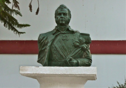 Statue of Bernardo O' Higgins