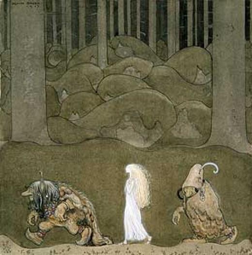 public domain fairy tale illustration