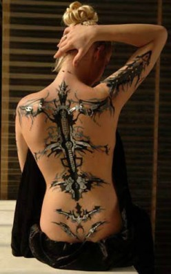 Those Trendy And Increasingly Popular 3D Tattoos!