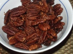 World 's Best Candied Pecans Walnuts or Almonds