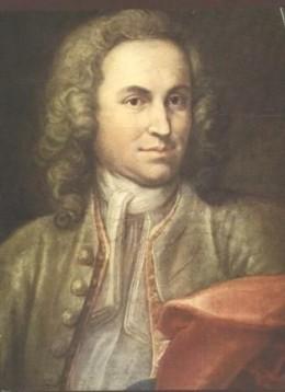 Portrait of JS Bach as a young man