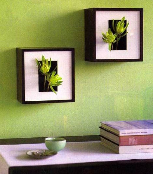 Re-designed Shadow-boxes - Gives new meaning to going green.