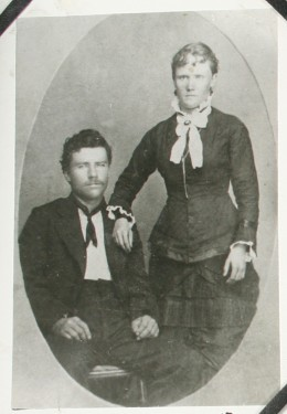 Rufus Winston and Lillie Searle Barker (my great-great grandparents)
