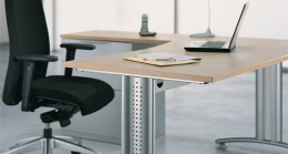 L Shaped Desk example