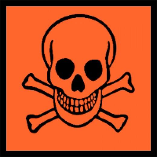 Poison Hazard Symbol