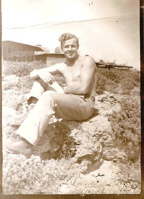 My father-in-law in Saipan during WWII