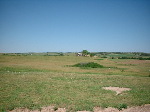 Prairie in Pine Ridge Reservation