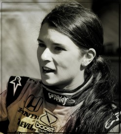 YES, GIRLS WHO LOOK LIKE INDY RACER, DANICA PATRICK, CAME TO BID FAREWELL TO HARVEY WHEN HE PASSED AWAY.