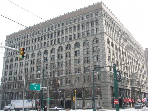 Ellicott Square Building, Buffalo, New York