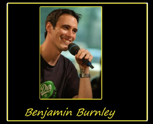 Benjamin Burnley, lead singer of Breaking Benjamin - he stars and sings in the video I Will Not Bow