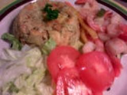 Puertorrican Specialties: Mofongo con Camarones al Ajillo