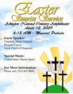 Easter Service Program