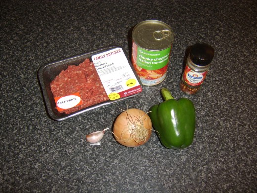 Sloppy Joe sauce ingredients