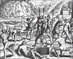 """Columbus's """"Tribute System"""" in Hispaniola"""