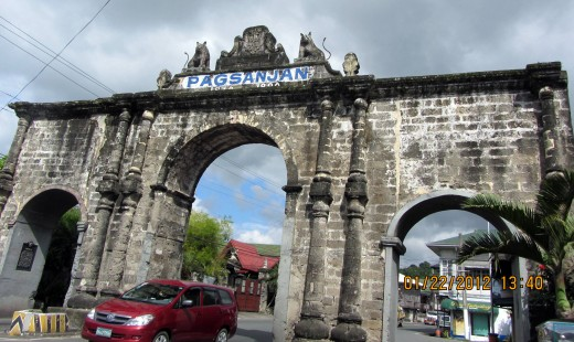 The 18th century Pagsanjan Arch