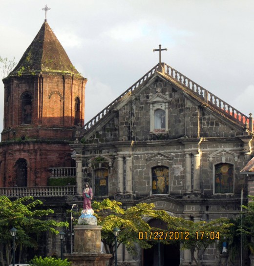 the beautiful old church of Pila