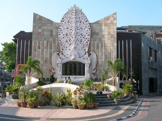 memorial for the victims of the 2002 Bali bombing
