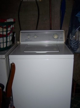 Oh, Happy Day, My New Washer.