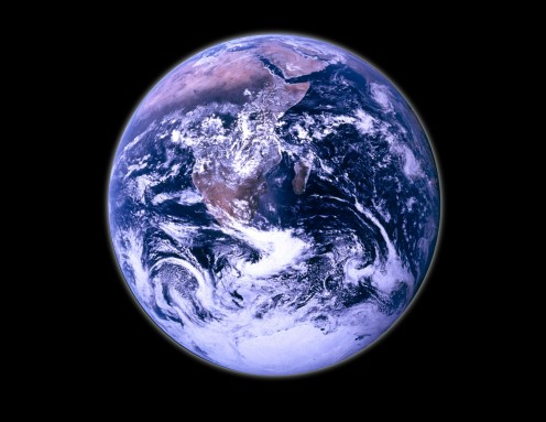 the whole earth is under the watchful eye of God