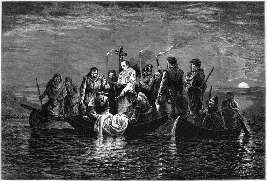 De Soto's Burial
