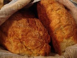 Loaves of Irish Soda Bread
