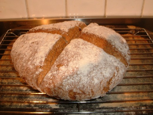 This Soda Bread Contains Brazil Nuts & Hazelnuts