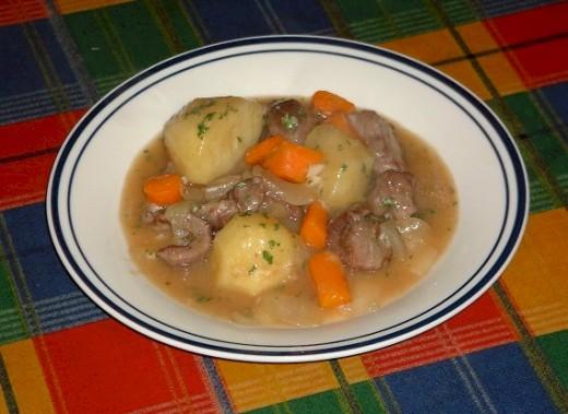 A Plate of Irish Stew