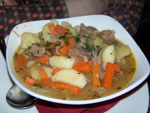 Plate of Irish Stew