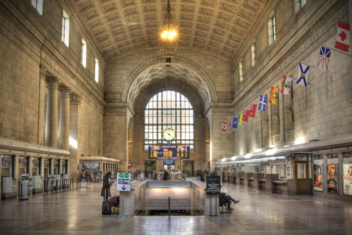The Great Hall of Union Station, Toronto