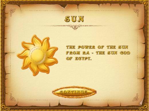 treasure - sun