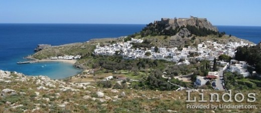 Lindos Rhodes photo