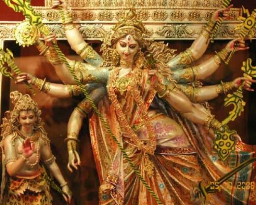 Goddess Durga - power of woman