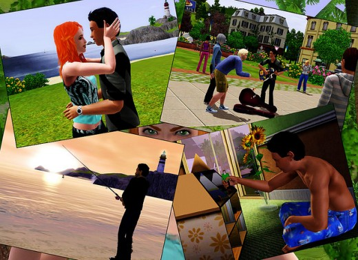 You may have to forego some fun activities on the Sims3 and in real life in order to become a millionaire.