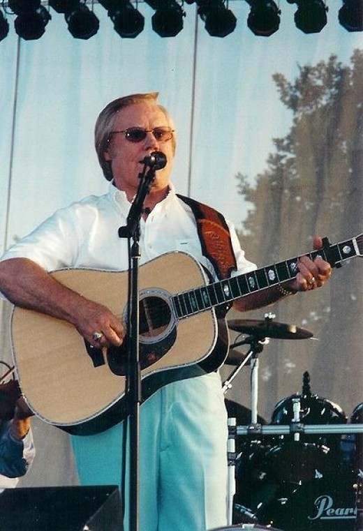 George Jones, whose wife Nancy is probably the reason he is still with us today at age 80!
