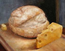 Slather a fresh-baked slab with butter, or pair it with a pungent cheese for a hearty but simple meal or snack.