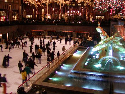 Rockefeller Center Ice Skating   © Eric Heifetz
