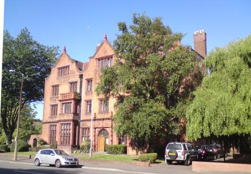 Aberdare Hall, Cardiff University.