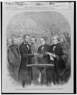 Illustration Published in Harper's Weekly March 18, 1865