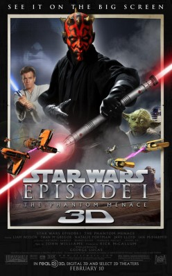 Star Wars:  Episode I- The Phantom Menace 3-D